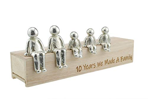10th Anniversary Idea - 10 Years We Made A Family 100% - Choose Your...