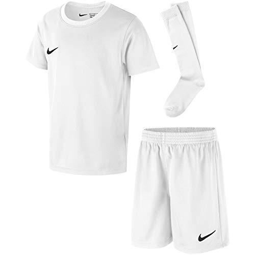 Nike Kinder Park Kit Trikotset, Weiß (White/Black), XL (122-128)