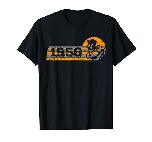 MTB Bike Ciclista Mountainbike Nacido en 1956 Cumpleaños Camiseta