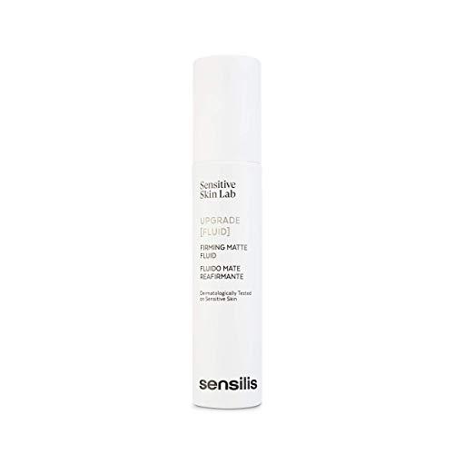 Sensilis Upgrade - Fluido Facial Mate y Reafirmante para Piel Sensible - 50 ml
