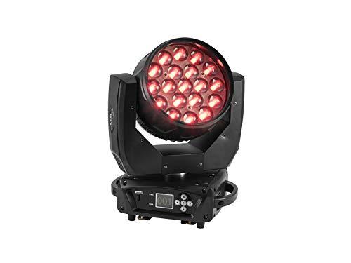 EUROLITE LED TMH-X4 Moving-Head Wash Zoom | Washlight mit 19 starken 15-Watt-LEDs (4in1) und motorischem Zoom