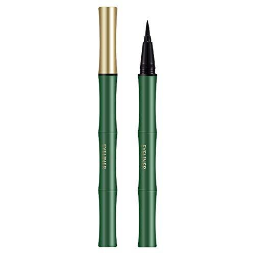 Luckine Eyeliner en bambou Forme unique Imperméable et résistant à la transpiration Eyeliner liquide EyeLiner liquide longue durée, Maquillage anti-taches