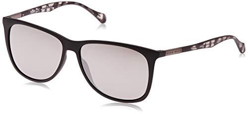 Hugo Boss BOSS0823S-YV4T4-58 HUGO BOSS zonnebril BOSS0823S-YV4T4-58 Wayfarer zonnebril 58, zwart