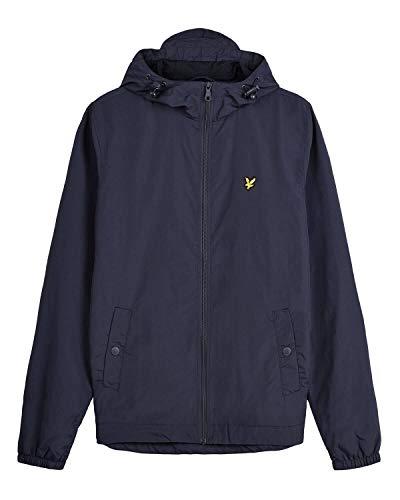 Lyle & Scott Herren Zip Through Hooded Jacket Jacke, Blau (Dark Navy Z271), X-Large