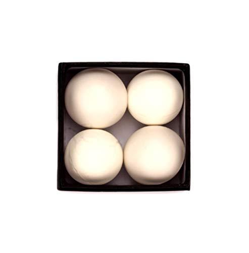 CCAN One Ball zu Vier Weiß Rot weichen Gummi Multiplikation Ball Bühne Zaubertricke Magier Requisiten Magie Spielzeug (Farbe : Weiß)