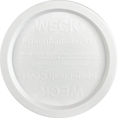 Weck FRISCHHALTEDECKEL 100 MM 5 TLG. KST. WEI