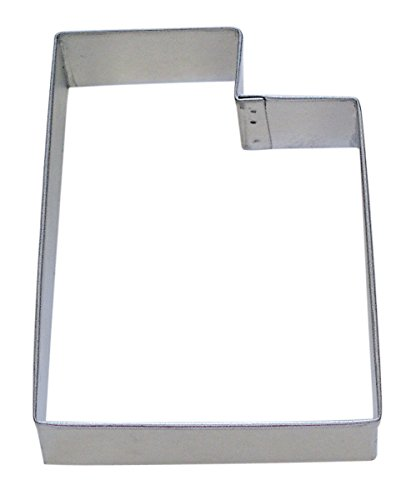 R&M Utah State Cookie Cutter in Durable, Economical, Tinplated Steel