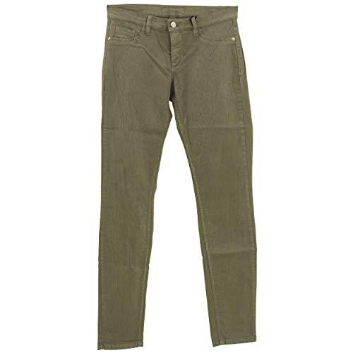 DEYK, Mae, Damen Damen Jeans Hose Stretchdenim Taupe Crinkle W 26 L 32 D 34 [23005]