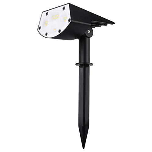 Nrpfell Riflettori Solari il Paesaggio, IP65 Lampade da Parete Ad Energia Solare Impermeabili Illuminazione Paesaggistica Solare Esterna Senza Fili per Giardino Cortile Vialetto Portico