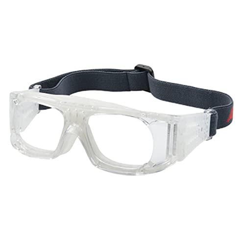 Colcolo Gafas de sol deportivas flexibles Marco antiimpacto de seguridad Conducción a prueba de viento Gafas protectoras anti-luz azul Gafas deportivas para - BLANCO