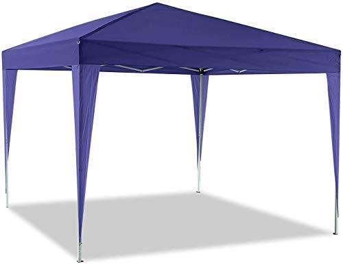 Pabellón del jardín plegable de tela oxford 210D hecho 3x3m / tienda 3x6m jardín pabellón,3 * 6/m Purple