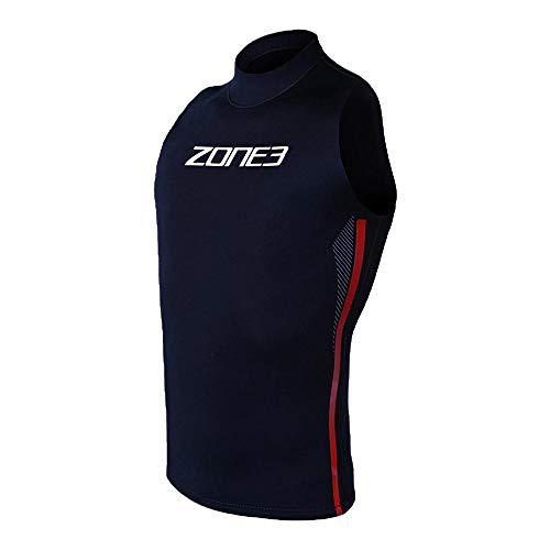 ZONE3 Warmth Neoprenweste Black/red/White Größe L 2020 Triathlon-Bekleidung