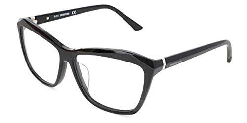 Swarovski Brillengestelle SK5193-F 001 Monturas de gafas, Negro (Schwarz), 58.0 para Mujer