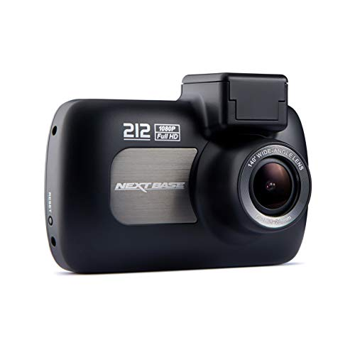 Nextbase 212 Lite - Full 1080p HD In-Car Dash Camera DVR - Night Vision Front Cam - 140° Viewing Angle - Black