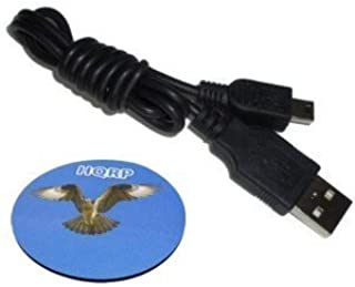 HQRP USB to Mini USB Cable forMagellan RoadMate 2120T / 2120T-LM / 2136T-LM / 2145T-LM / 3030/3030-LM / 3045/3045-LM / 3045-MU GPS Plus HQRP Coaster
