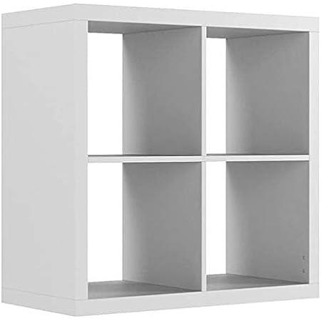 IKEA KALLAX - Estantería (77 x 39 x 42 cm), color blanco ...