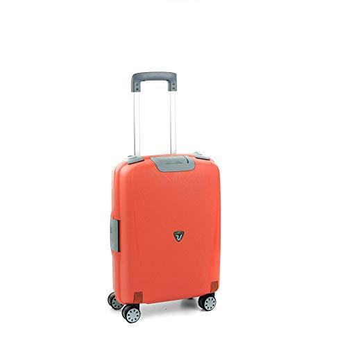 Roncato Light Maleta Cabina avión Naranja, Medida: 55 x 40 x 20 cm, Capacidad: 41 l, Pesas: 2.90 kg, Maleta Cabina avión ryanair