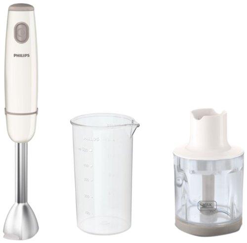 Philips HR1605/00 - Tages Sammlung Stabmixer mit ProMix Mischtechnik, 550 W, 0,5 l Glas-, Mühle, 1 G