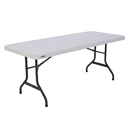 Lifetime Table pliante Blanc Granite 183 x 76 x 73,6 cm 80367