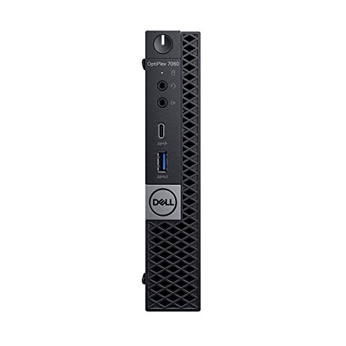 DELL OptiPlex 7060 2.40GHz i7-8700T MFF Intel Core i7-8xxx Negro Mini PC – Ordenador de sobremesa (2.40…