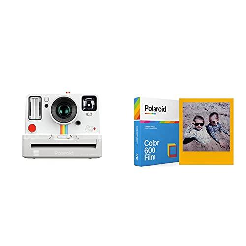 Polaroid Originals 9015 OneStep + Cámara con Impresión Instantánea, Color Blanco + Polaroid 6015