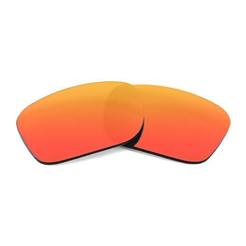 Polarized Replacement Lenses for Nike Mavrk Sunglasses - By APEX Lenses (Fire Orange)