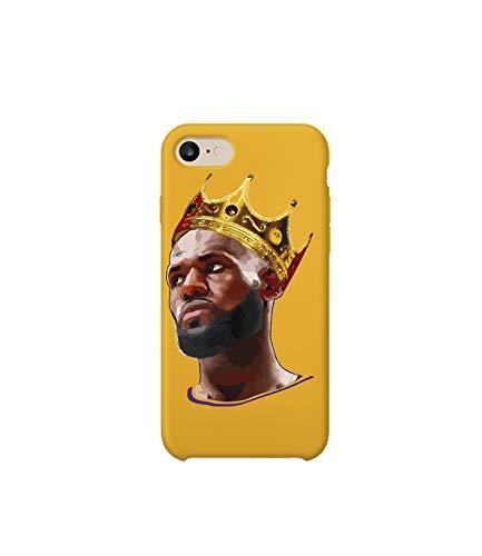 Funda protectora de plástico duro para teléfono inteligente con diseño de rey James 02_MRZ0153, para iPhone 6 Plus