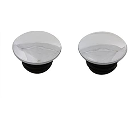 Stock Style Gas Cap Set Vented and Non-Vented fits Harley-Davidson