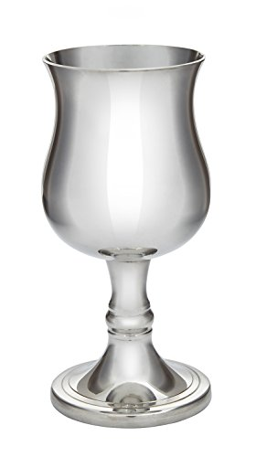 Wentworth Pewter - Small Georgian Pewter Goblet White Wine