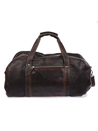 Luxury Fashion | The Jack Leathers Heren 1019HSPE06 Bruin Leer Reistassen | Seizoen Outlet