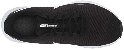 Nike Men's Revolution 5 Wide Running Shoe, Black/White-Anthracite, 8.5 4E US 6