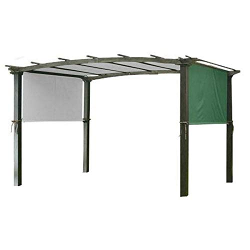 Xiaorong 5,2 x 2 m Sonnensegel Sonnenschutz Überdachung robust langlebig Ersatzmarkise für Pergola Strukturen Nur Abdeckung ohne Regale.