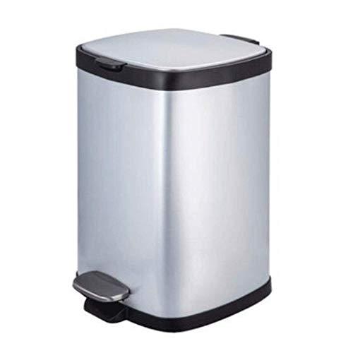 CCJW Capacidad Extra de Acero Inoxidable Paso de Basura con protección contra olores de la Tapa. kshu