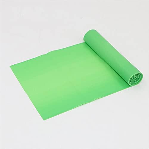 XEAXPPP 1.5m TPE Bandas de Resistencia de Yoga Pialtes Pialtes Banda de Goma Yoga Transporte Expander Fuerza Elástica Bandas para Crossfit Gym Sports (Color : Green)
