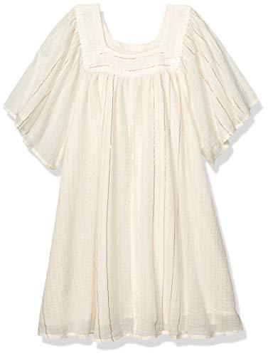 Billabong Mädchen Feeling Sparkly Dress Freizeitkleidung, weiße Kappe, Groß