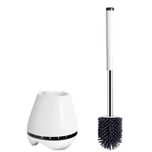 LEVOSTOREトイレブラシ 360°植毛タイプ TPR材質 水はね防止 傷つけない トイレ掃除用品 トイレ掃除ブラシ