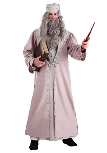 Charades Adult Deluxe Plus Size Dumbledore Fancy Dress Costume 3X