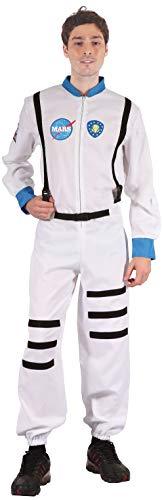 Bristol Novelty AC173X Astronaut (XL) Kostuum, Mannen, Wit