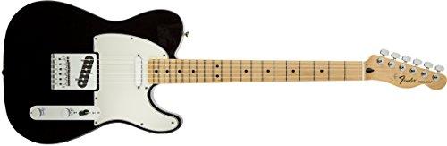 Fender Standard Telecaster Electric Guitar - Maple Fingerboard, Black