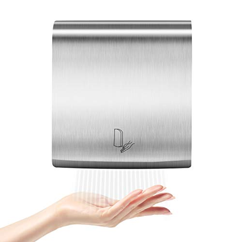 PowerPress AHD-2016-01 PENSON & CO. Ultrathin Automatic Electric Hand Dryer Commercial High Speed, Instant Heat & Dry, for Bathroom K2016, K2016-ultrathin