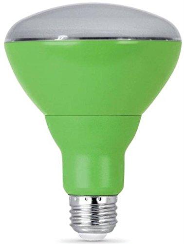 Feit Electric BR30/GROW/LEDG2 LED Grow Light Bulb, BR30, 9-Watts - Quantity 4