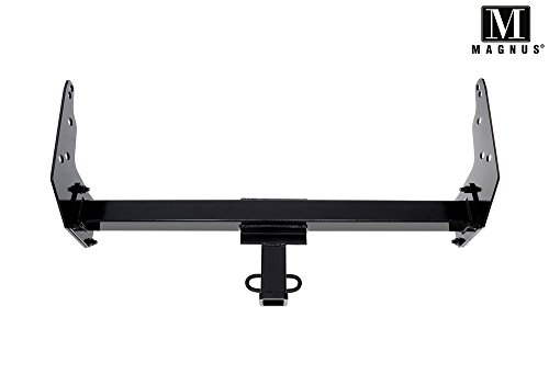 Magnus Assembly Class 3 Trailer Hitch 2 Inches Receiver Tube Towing Hitch Compatible with 1983-2004 Chevy S-10  1991-2004 GMC Sonoma  1983-1990 GMC S15  1996-2000 Isuzu Hombre
