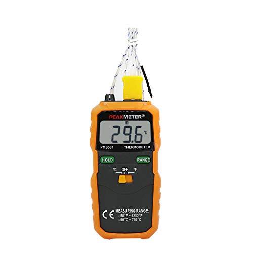 RTYUU Kontaktthermometer-Digitalanzeige mit Sonden-Thermoelement -50~750 (° C) (ohne Batterie)