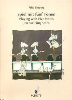 SPIEL MIT FUENF TOENEN - arrangiert für Klavier [Noten / Sheetmusic] Komponist: EMONTS FRITZ