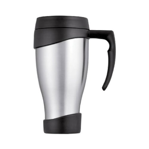 Thermos 712371 Foam Travel Mug, Black