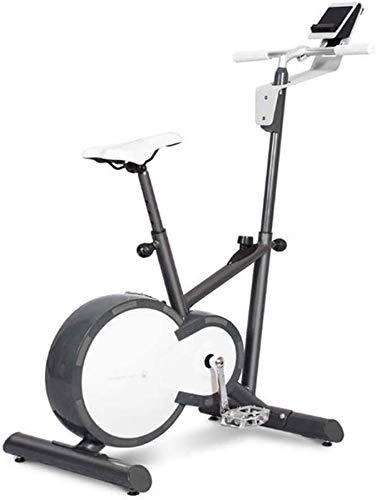 Wghz Bicicleta de Ciclismo para Interiores Fija, magnética para Ejercicio, Bicicleta Vertical, Asiento Ajustable para Entrenamiento de Cuerpo Completo