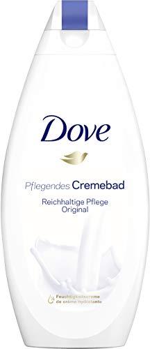 Dove Cremebad für trockene Haut Reichhaltige Pflege mit ¼ Feuchtigkeitscreme (1 x 750 ml)