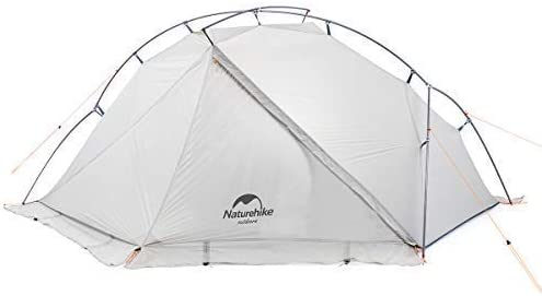 Factory Naturehike VIK Series 970g Carpa Individual Ultraligera Carcasa de Camping Impermeable de Nylon 15D Carpa de Senderismo de una Sola Capa para ...