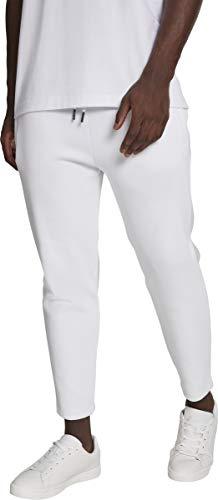 Urban Classics Cropped Heavy Pique Pants Pantalon De Sport, Blanc (White 00220), 54 (Taille Fabricant: Large) Homme