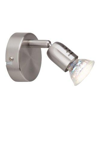 Brilliant G28810/13 Spot Patère Acier GU10 2,5 W LED Métal Argent